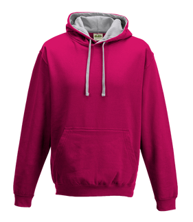 Hot Pink / Heather Grey
