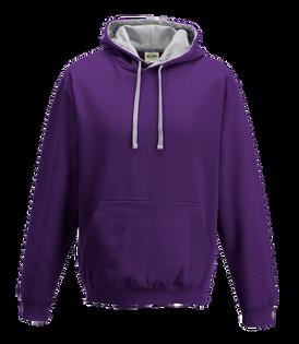 Purple / Heather Grey