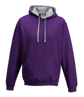 Purple / Heather Grey