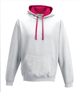 Arctic White / Hot Pink