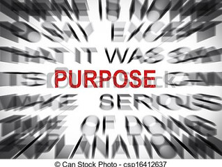 PURPOSE.. AS IF YOUR LIFE COULD WAIT