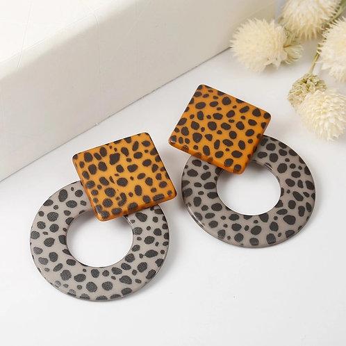 *Cheetah print earrings
