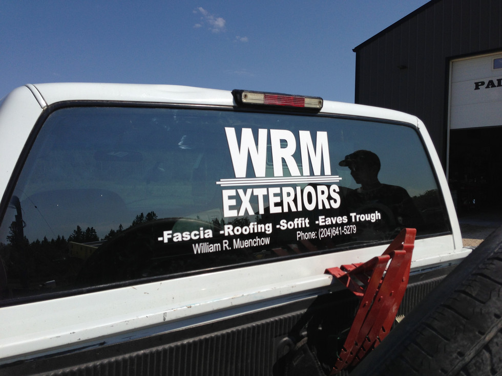 Business Name Decals