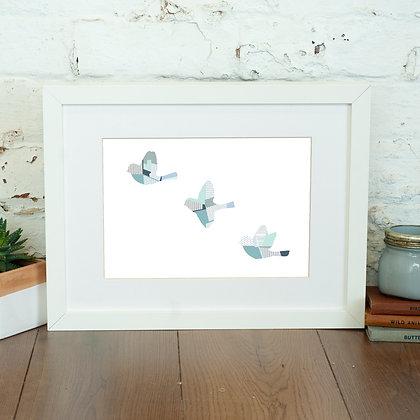 Flying Birds Print