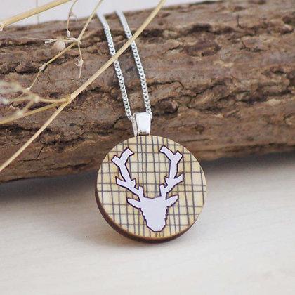 Stag Deer Pendant
