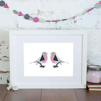 Lovebirds Print