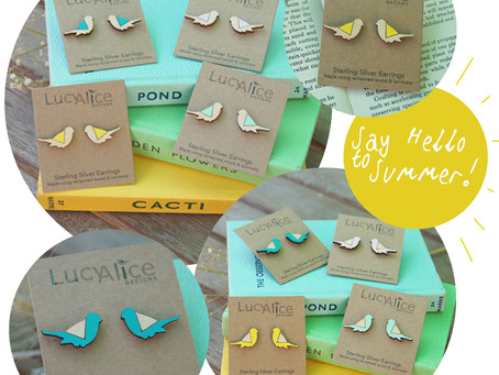 *NEW* Limited Edition Summer Bird Earrings!