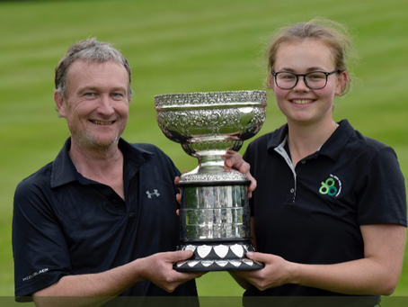Annabel wins Irish Women's Close Championship