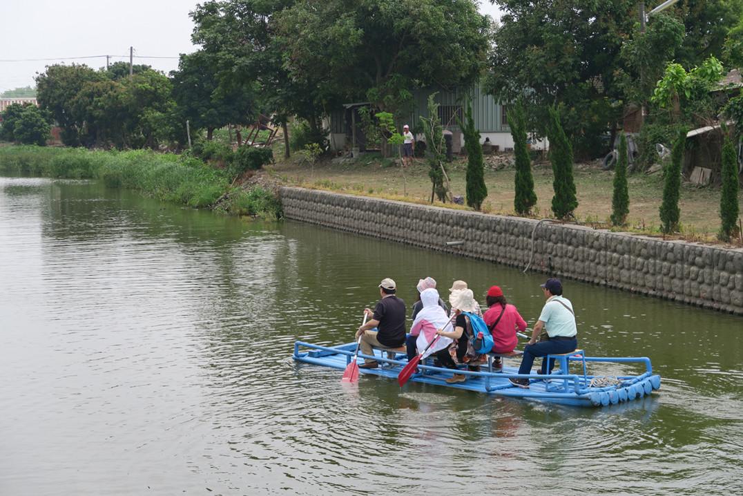 埤頭掘划膠筏