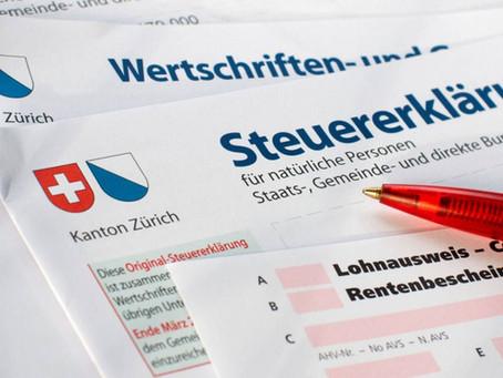 Steuererklärung inkl. Belege online einreichen (Kanton Zürich)