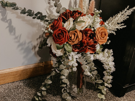 How I made all my wedding flowers for less than $200