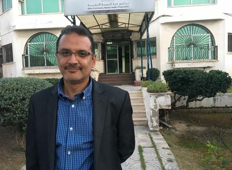 Intervju med Dr.Jamei direktør for Gaza Community Mental Health Programme