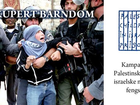 Invitasjon til møte om kampanjen Palestinske barn i Israelske fengsler(PIM)