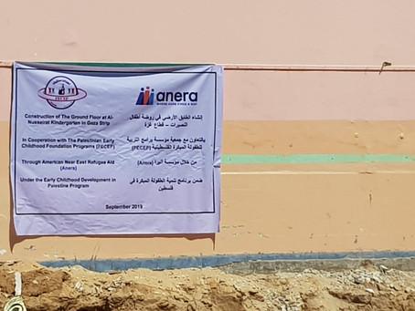 Bygging av ny barnehage i Gaza