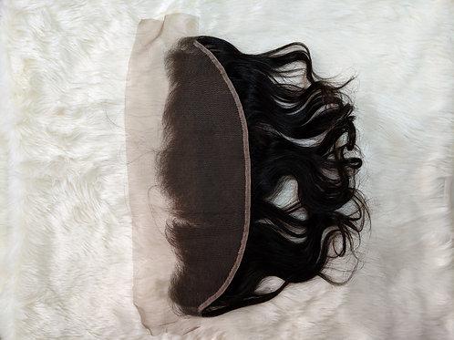 Brazilian Body Wave Virgin Human Hair Free Part 13x4 Frontal