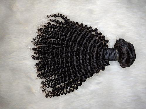 Afro Curly Virgin Human Hair Bundle