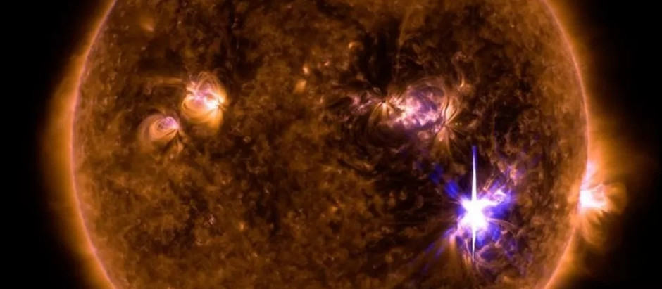 Just When you Thought Mercury Retrograde was over... you realized Solar Flares
