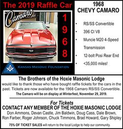 Mason's Corvette Raffle 2019