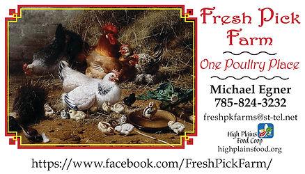 Fresh Pick Farm-Business Card