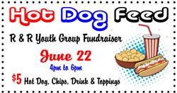 Hot Dog Feed Fundraiser