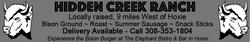wks 33-34 HiddenCreekRanch 3x1 AD