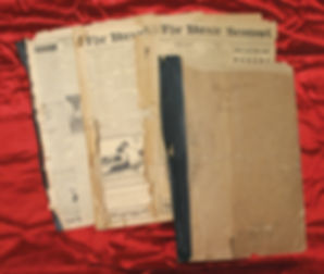Old Newspaper 1917-1918-poor condition