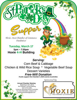 St Patrick's Day Supper