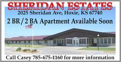 Sheridan Estates-Apt for Rent