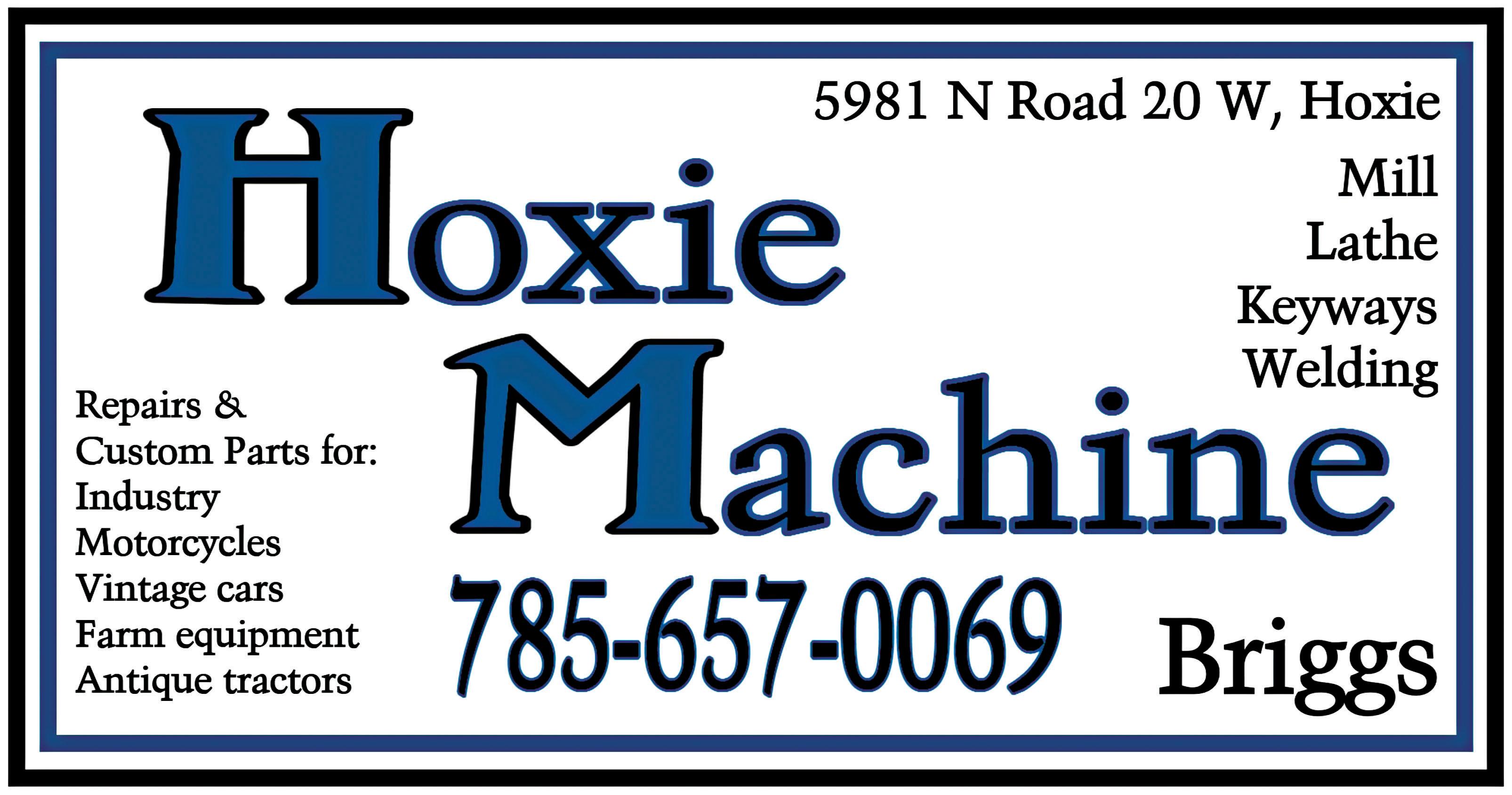 Hoxie Machine