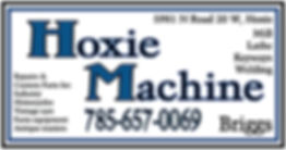 Hoxie Machine-Business Card