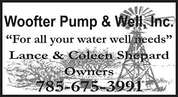 "Woofter Pump & Well-1cx1"" ad"
