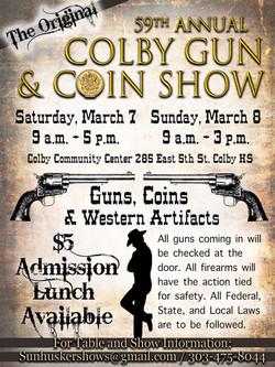 Colby Gun & Coin Show WK 22