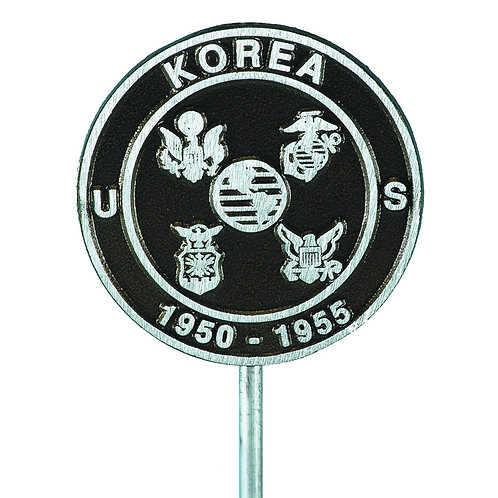 Korean War Veteran - Cast Aluminum