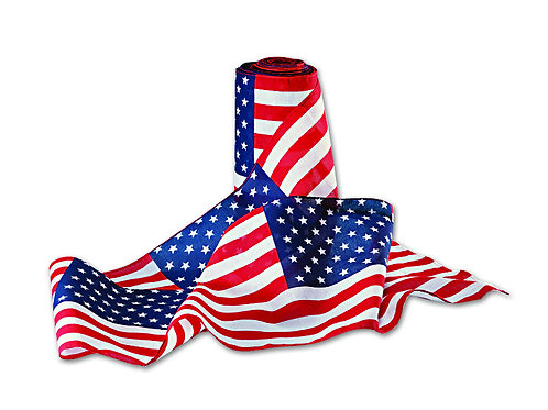 "U.S. Flag Bunting 12x18"" Pattern"