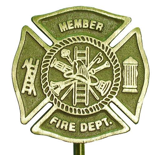 Firefighter - Cast Bronze