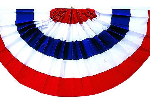 Pleated Full Fan - Style PFF-85 Stripes Only