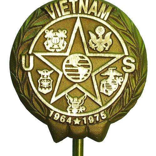 Vietnam War Veteran - Cast Bronze