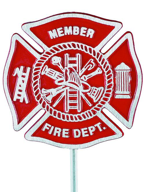 Firefighter - Cast Aluminum