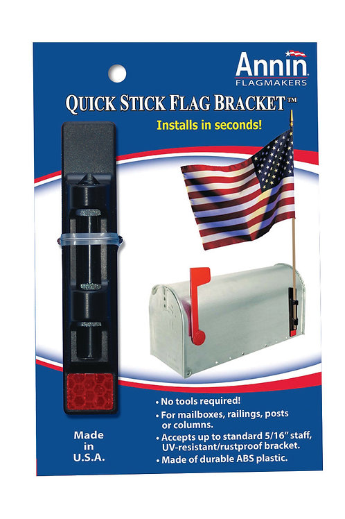 U.S. Flags - Quick Stick Flag Bracket