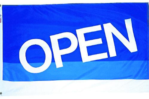 Open - Blue