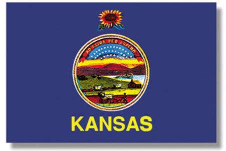 Kansas State Flag