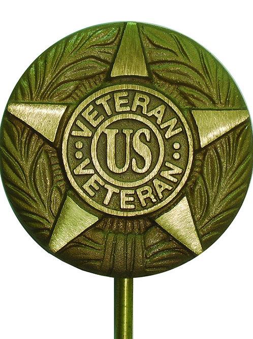 Vietnam War Veteran - Cast Aluminum