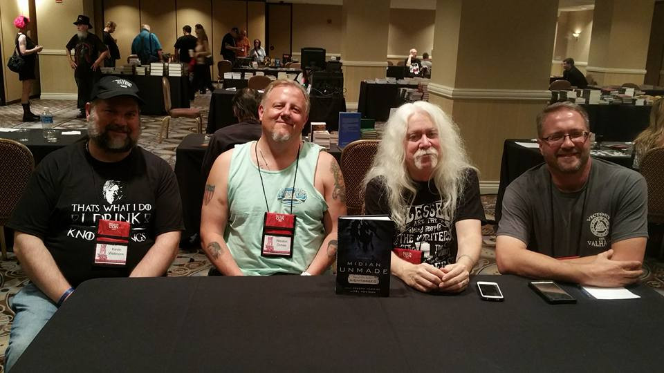 """""""Midian Unmade"""" Signing at StokerCon"""