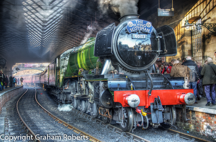 Flying Scotsman at Pickering