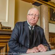 Tom the Bank Manager at Beamish