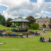 Beamish Bandstand on a Lovely Day