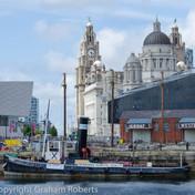 The Liver Building Taken Across Albert Dock, Liverpool