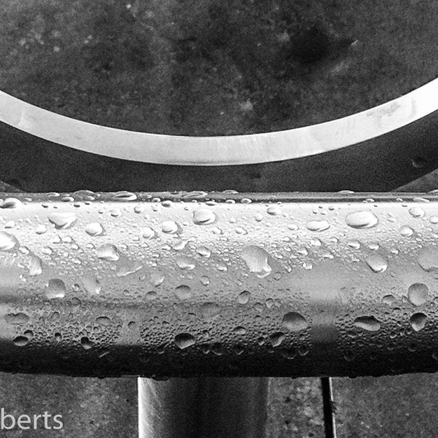 Handrail After the Rain