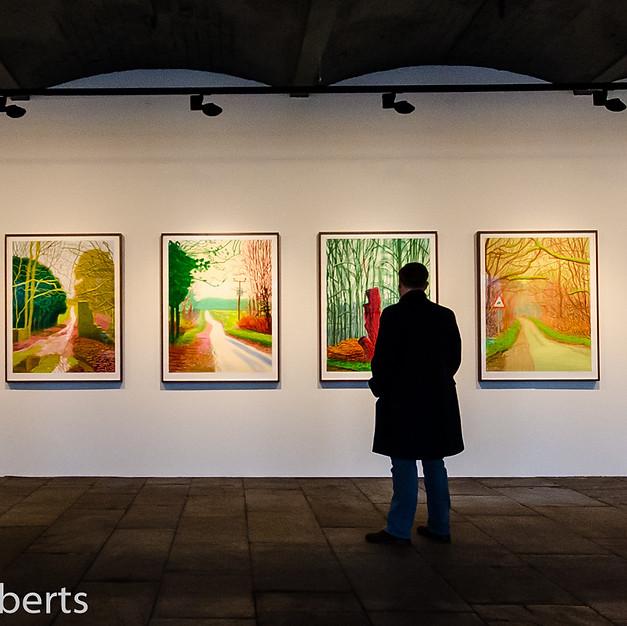 Contemplating Mr Hockney