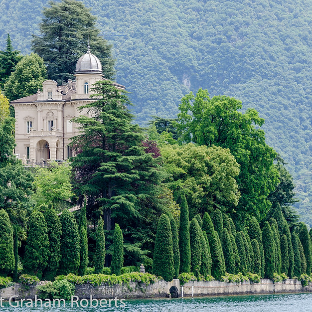 On Lake Lugano